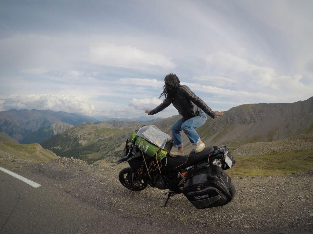 road trip moto en italie