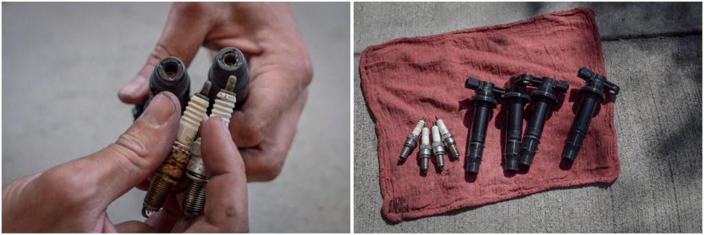comment nettoyer bougies de moto
