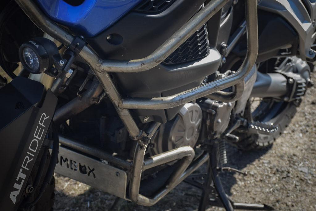 barres de protection moto